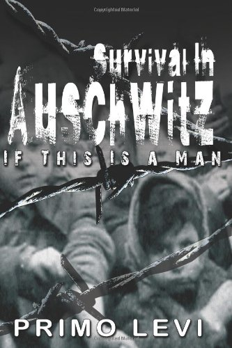 Survival In Auschwitz 1st edition cover