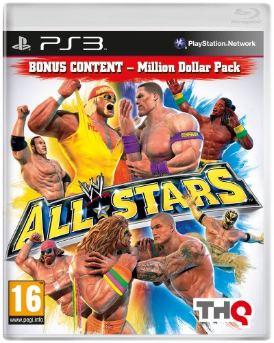 WWE All Stars - Million Dollar Pack (PS3) PlayStation 3 artwork