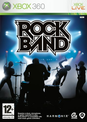 Rock Band - Game Only (Xbox 360) by MTV Games Xbox 360 artwork