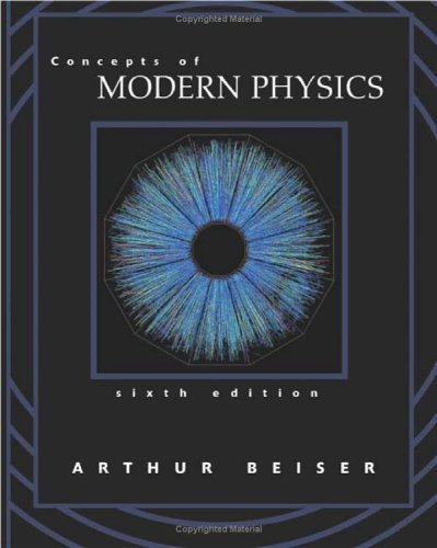 Concepts of Modern Physics  6th 2003 (Revised) edition cover