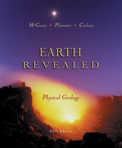 Physical Geology Earth Revealed with Online Learning Center (OLC) Password Card 5th 2004 edition cover