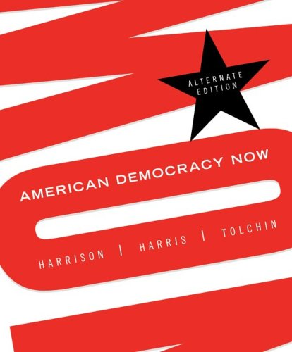 American Democracy Now   2010 edition cover