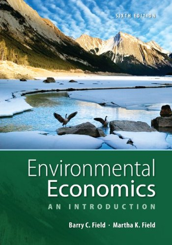 Environmental Economics An Introduction 6th 2013 edition cover