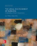 Loose-Leaf the Legal Environment of Business: a Managerial Approach: Theory to Practice  2nd 2014 edition cover
