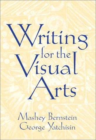 Writing for the Visual Arts   2001 edition cover