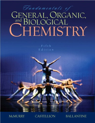 Fundamentals of General, Organic, and Biological Chemistry  5th 2007 (Revised) edition cover
