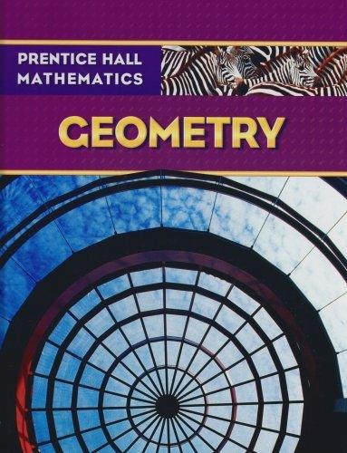 Prentice Hall Math Geometry Student Edition   2009 edition cover