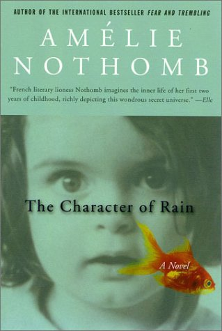 Character of Rain A Novel Revised  edition cover