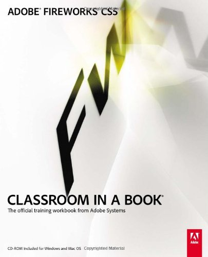 Adobe Fireworks CS5 Classroom in a Book   2011 edition cover