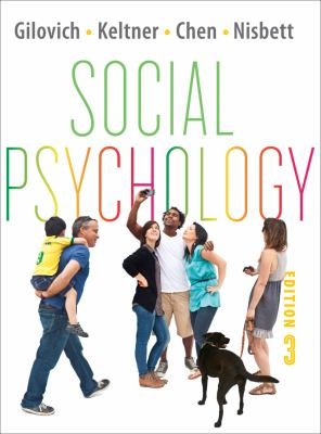Social Psychology  3rd 2012 9780393138481 Front Cover