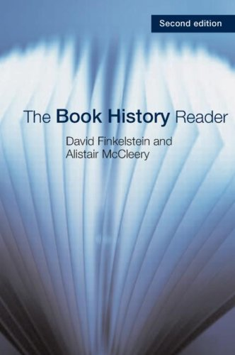 Book History Reader  2nd 2005 (Revised) 9780415359481 Front Cover