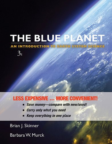 Blue Planet An Introduction to Earth System Science 3rd 2010 edition cover