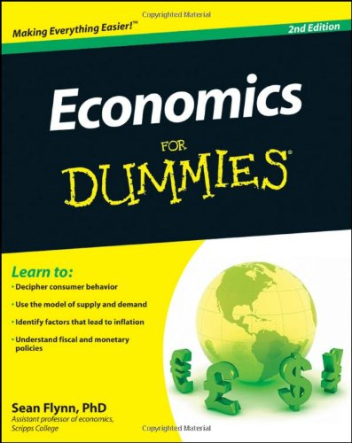 Economics for Dummies�  2nd 2011 edition cover