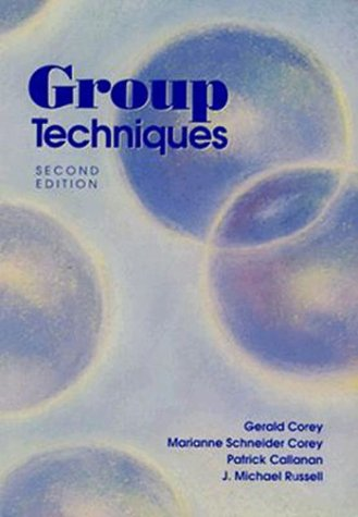 Group Techniques  2nd 1992 9780534162481 Front Cover