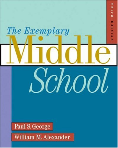 Exemplary Middle School  3rd 2003 (Revised) 9780534539481 Front Cover