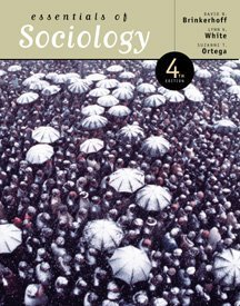 Essentials of Sociology with Infotrac  4th 1999 9780534555481 Front Cover