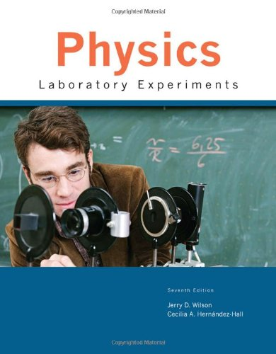 Physics Laboratory Experiments  7th 2010 edition cover