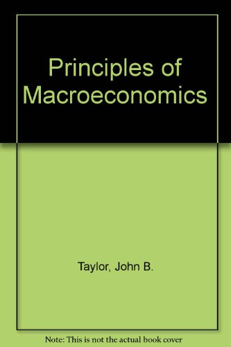 Principles of Macroeconomics 3rd 2001 9780618101481 Front Cover
