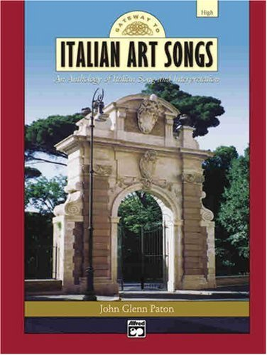 Gateway to Italian Songs and Arias High Voice, Book and 2 CDs  2004 edition cover