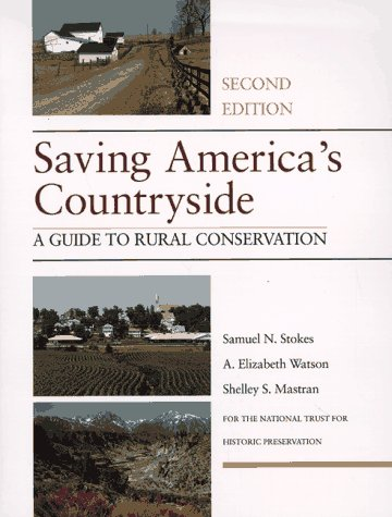Saving America's Countryside A Guide to Rural Conservation 2nd 1997 edition cover