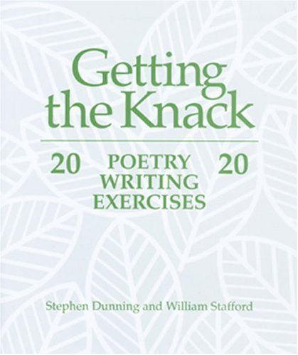 Getting the Knack 20 Poetry Writing Exercises  1992 edition cover