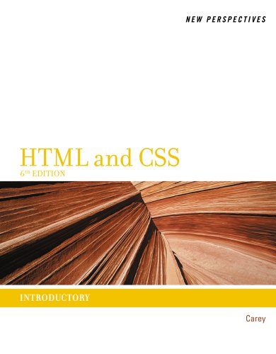 HTML and CSS Introductory 6th 2012 edition cover