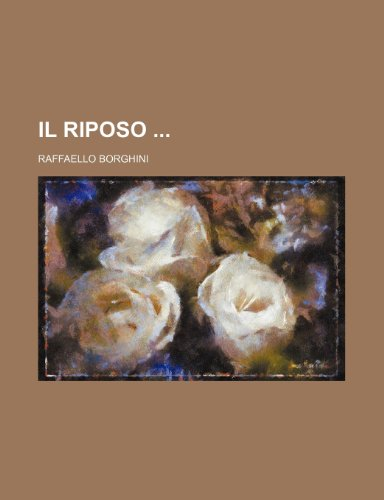 Il Riposo  0 edition cover