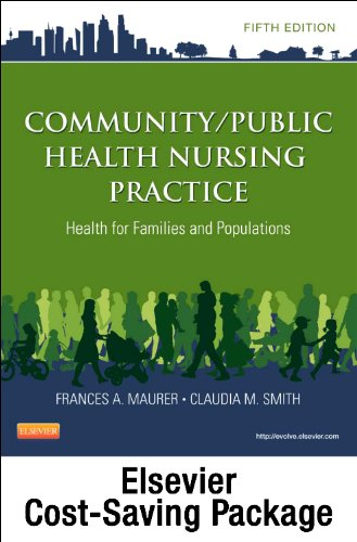 Community/Public Health Nursing Online for Community/Public Health Nursing Practice (User Guide, Access Code and Textbook Package)  5th edition cover