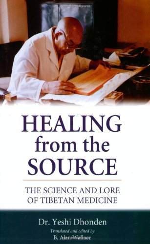 Healing from the Source The Science and Lore of Tibetan Medicine N/A edition cover