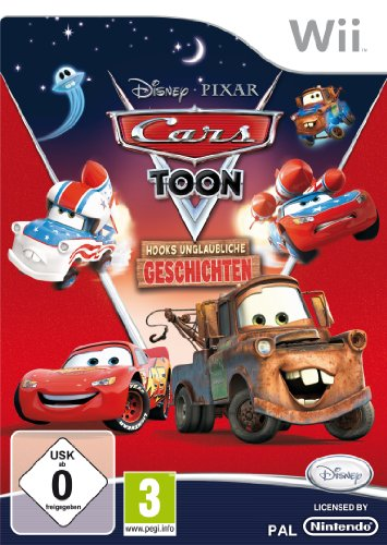 Cars Toon: Hooks unglaubliche Geschichten Nintendo Wii artwork