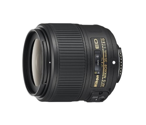 Nikon AF-S NIKKOR 35mm f/1.8G ED Fixed Zoom Lens with Auto Focus for Nikon DSLR Cameras product image