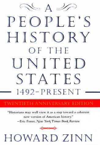 People's History of the United States 20th 1999 (Anniversary) edition cover