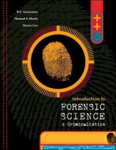 Introduction to Forensic Science and Criminalistics   2008 edition cover