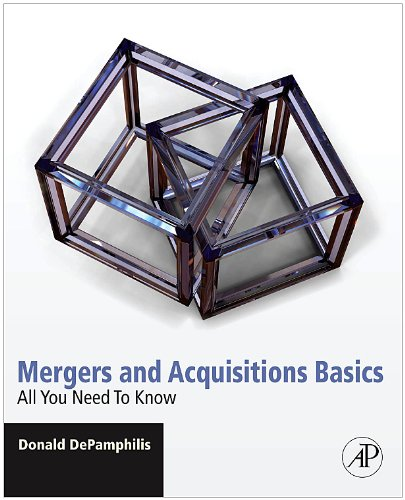 Mergers and Acquisitions Basics All You Need to Know  2010 edition cover