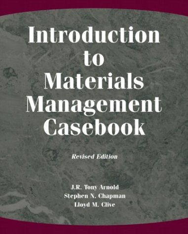 Introduction to Materials Management Casebook  2nd 2004 (Revised) 9780131148482 Front Cover