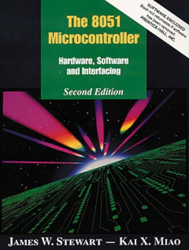 8051 Microcontroller Hardware, Software and Interfacing 2nd 1999 (Revised) 9780135319482 Front Cover