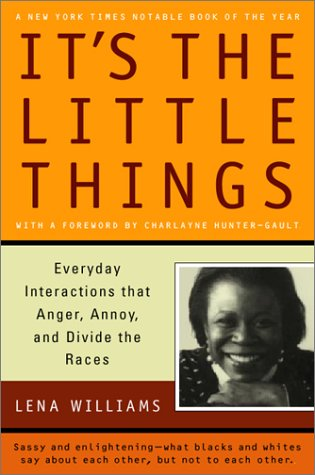 It's the Little Things Everyday Interactions That Anger, Annoy, and Divide the Races N/A edition cover