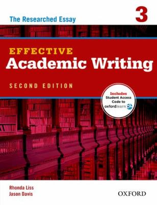 Effective Academic Writing 2e Student Book 3 Pack  2nd 2012 edition cover