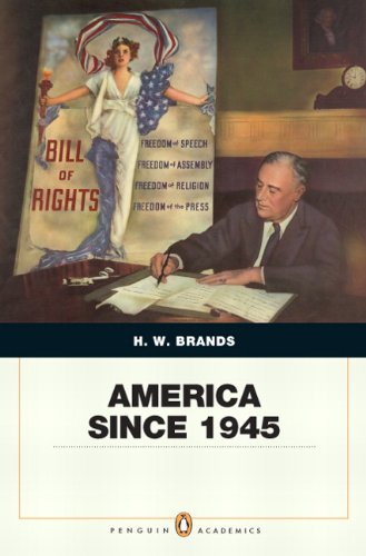 America Since 1945 Penquin Academic Edition  2012 edition cover