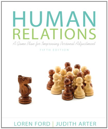Human Relations A Game Plan for Improving Personal Adjustment 5th 2013 9780205865482 Front Cover