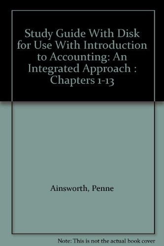 Introduction to Accounting An Integrated Approach  1997 (Student Manual, Study Guide, etc.) 9780256243482 Front Cover