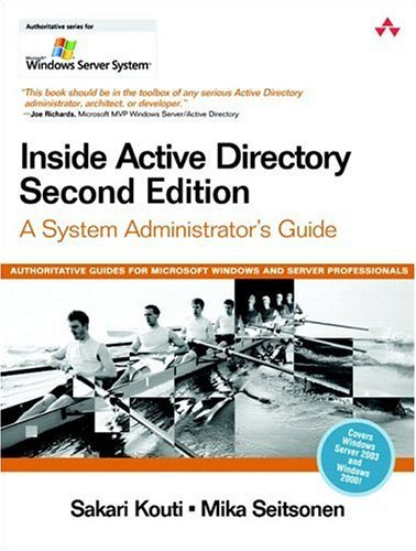 Inside Active Directory A System Administrator's Guide 2nd 2005 edition cover