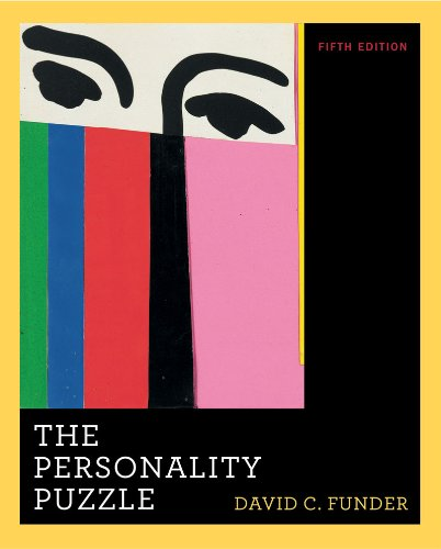 Personality Puzzle  5th 2010 edition cover