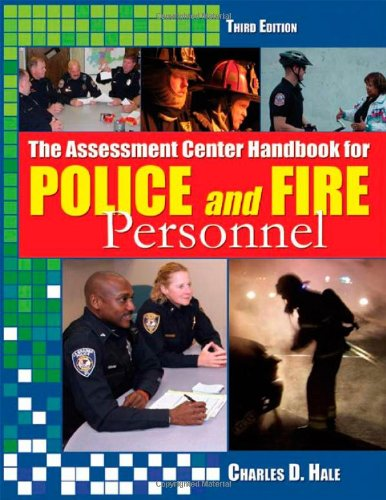 Assessment Center Handbook for Police and Fire Personnel  3rd 2010 9780398079482 Front Cover