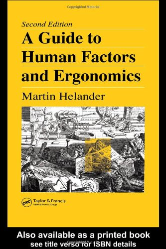 Guide to Human Factors and Ergonomics  2nd 2005 (Revised) edition cover