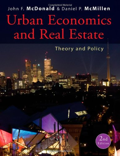 Urban Economics and Real Estate Theory and Policy 2nd 2011 edition cover