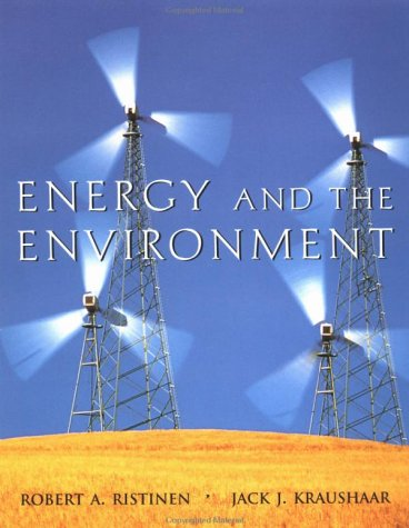 Energy and the Environment   1999 9780471172482 Front Cover