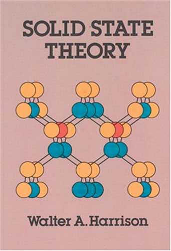 Solid State Theory   1980 (Reprint) edition cover