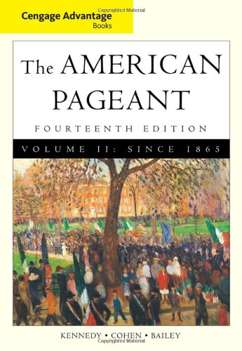 American Pageant since 1865  14th 2011 9780495903482 Front Cover