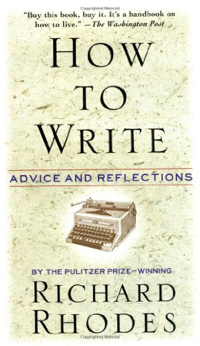 How to Write Advice and Reflections  1995 edition cover